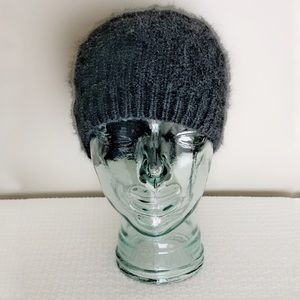 Small Angora fitted Toque hat